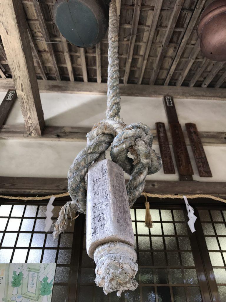 本坪鈴の鈴紐